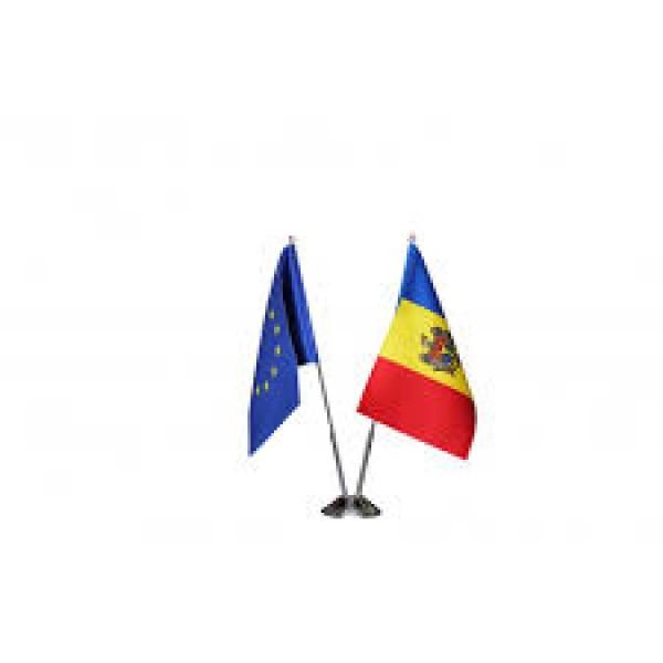 Suport pentru 2 drapele metalic
