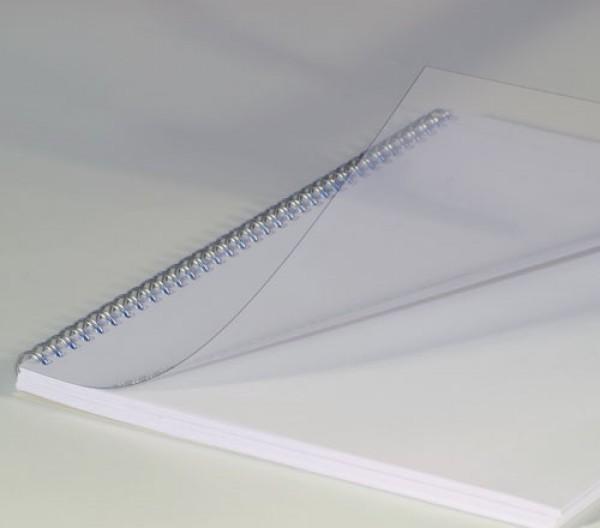 Copertă PVC A4, transparentă, 0,15 mm