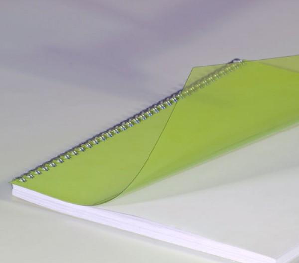 Copertă PVC A4, transparentă, 0,20 mm